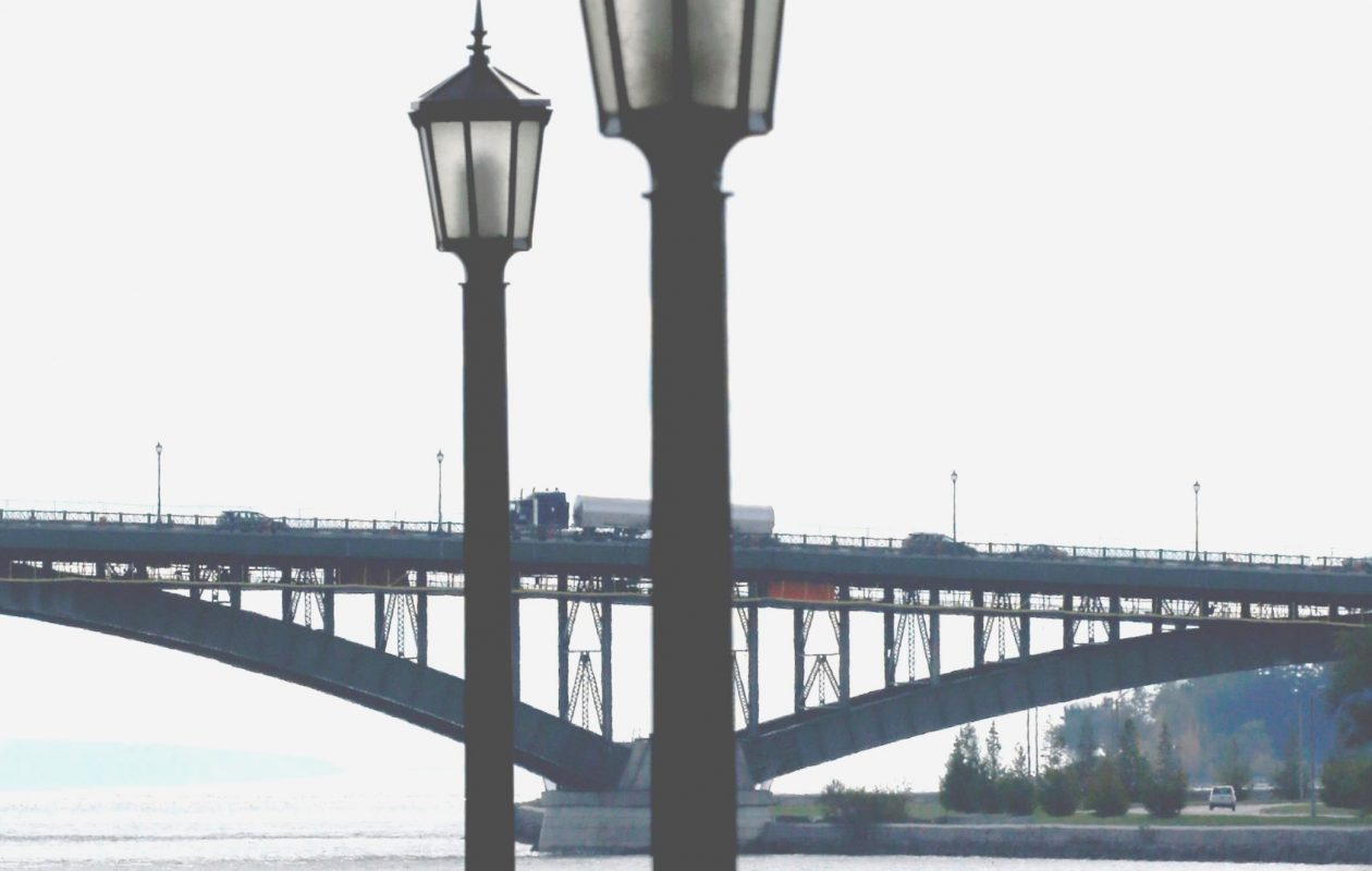 View of the Peace Bridge.  (Robert Kirkham/Buffalo News file photo)