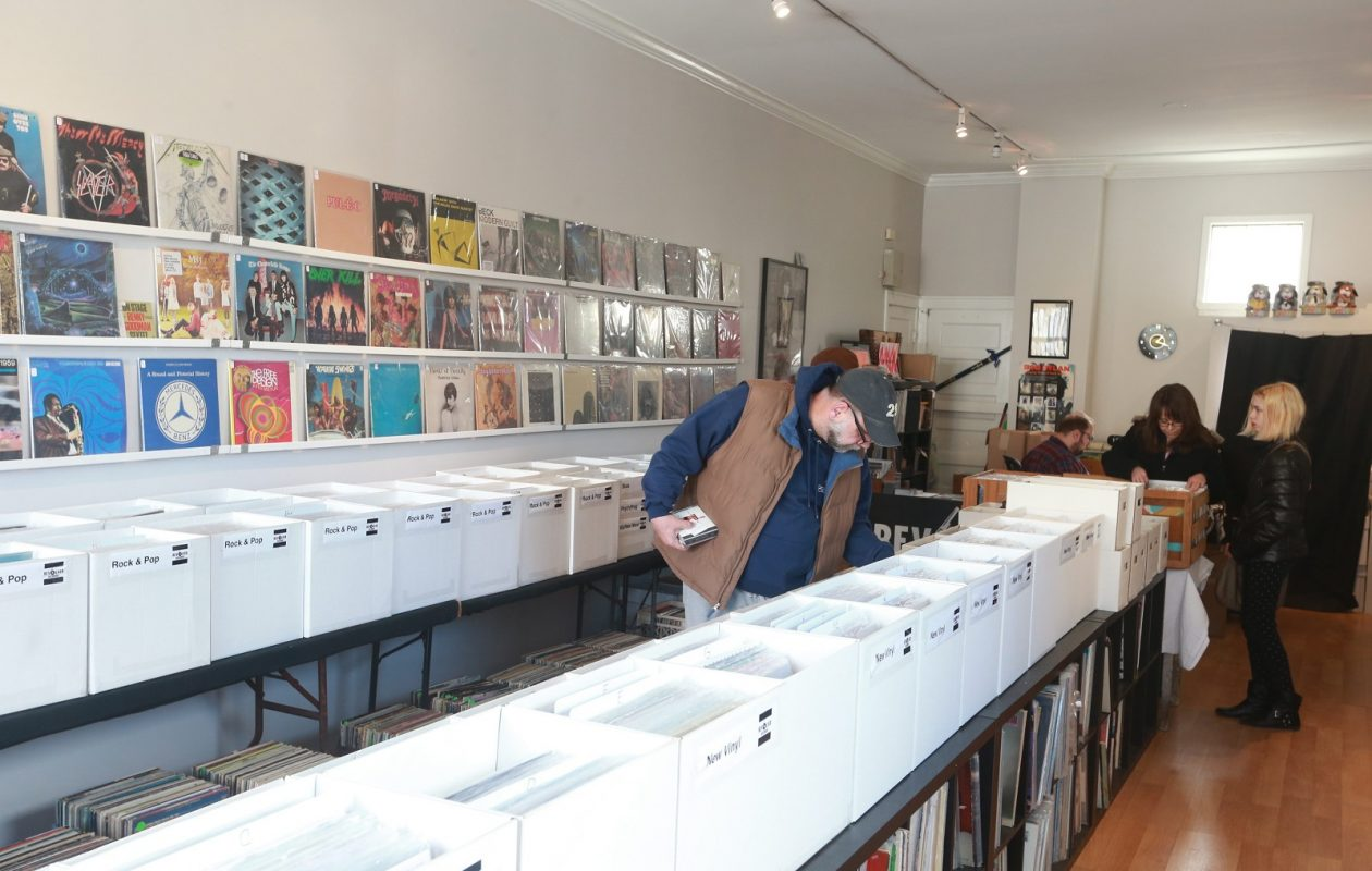 Revolver Records on Hertel Avenue is one of two independent music retailers participating in Record Store Day's Black Friday event this year. (John Hickey/News file photo)