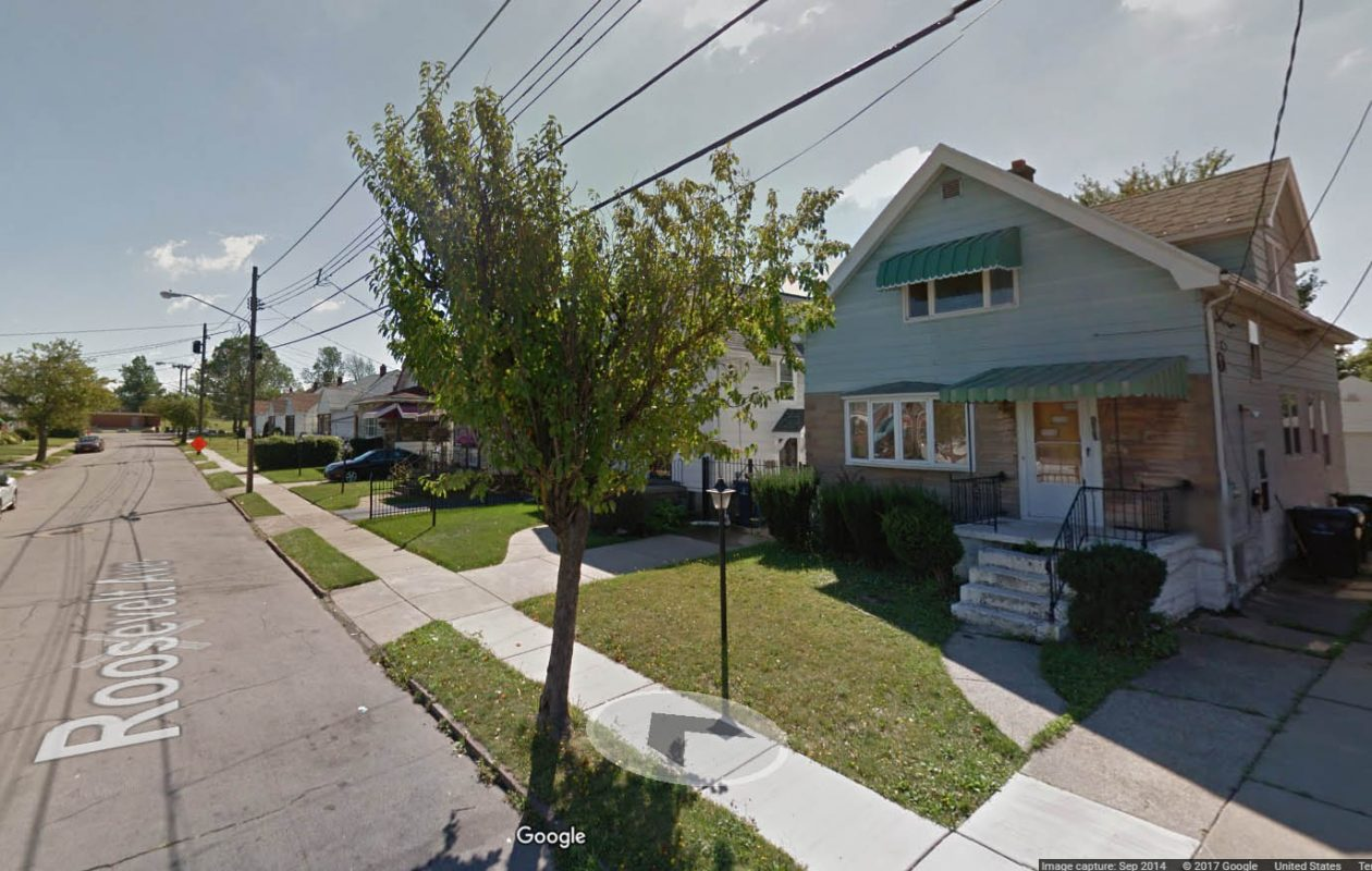 A 2014 Google Street View image of 161 Roosevelt Ave.
