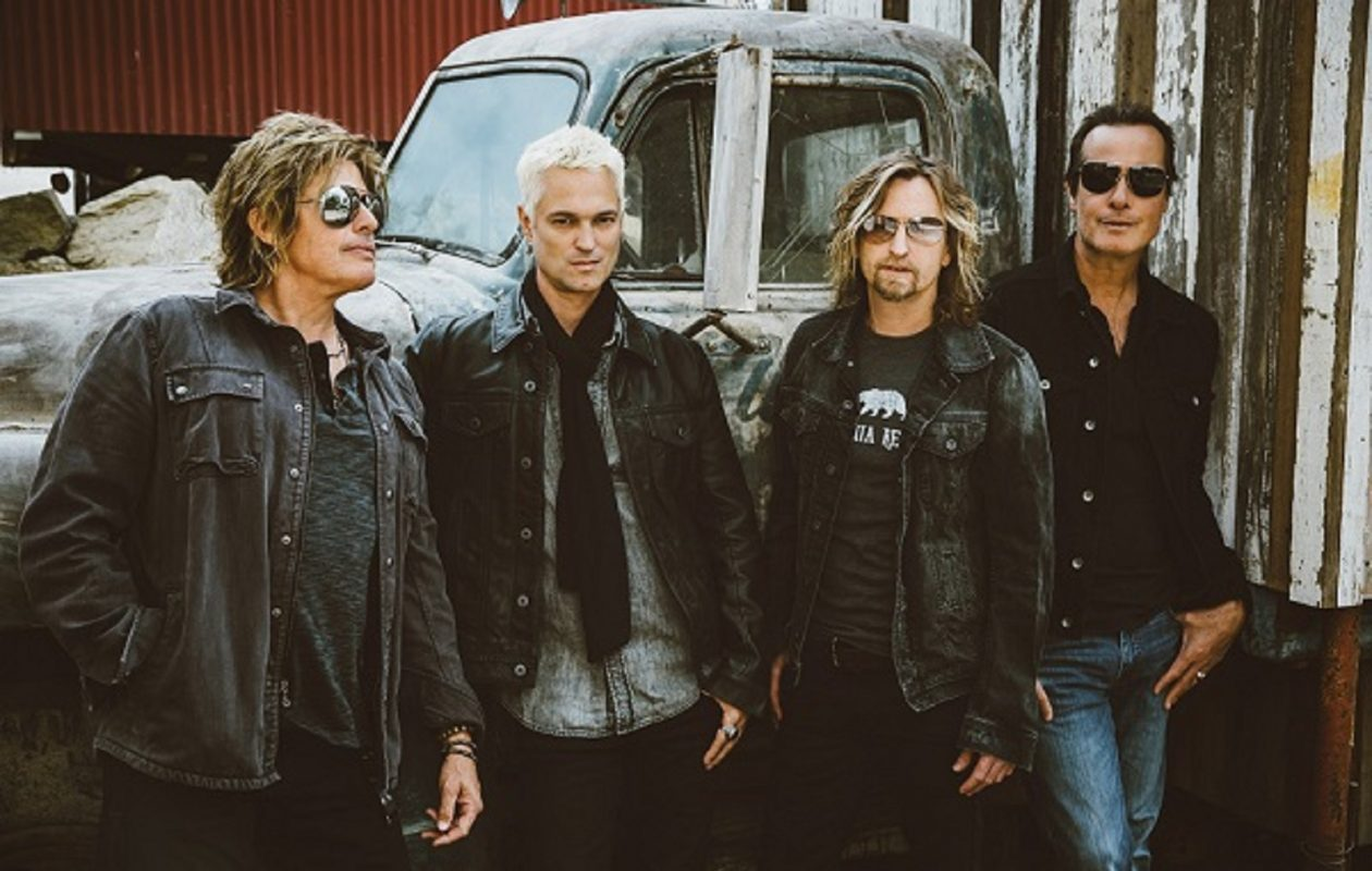 Stone Temple Pilots, with new singer Jeff Gutt (second from left). (Photo by Michelle Shiers)