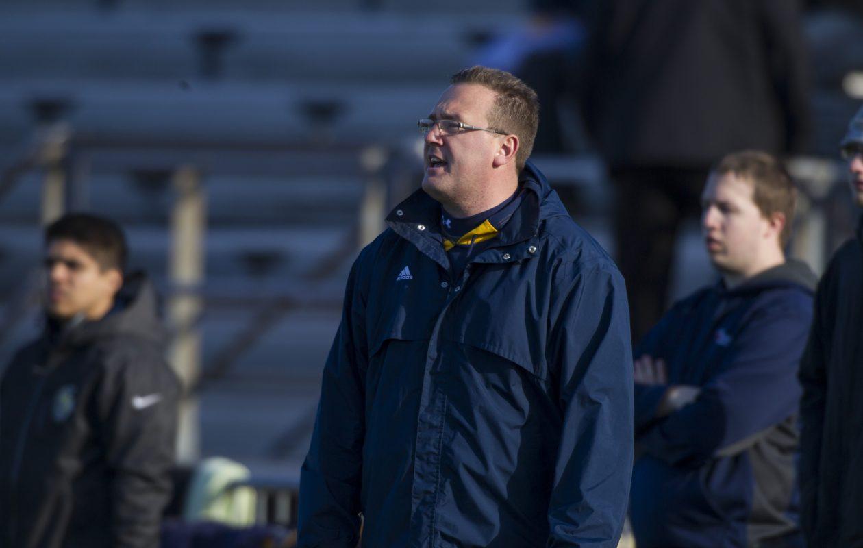 Scott Teeter coached Canisius' women's lacrosse team for 17 seasons. (Photo courtesy of Canisius athletics)