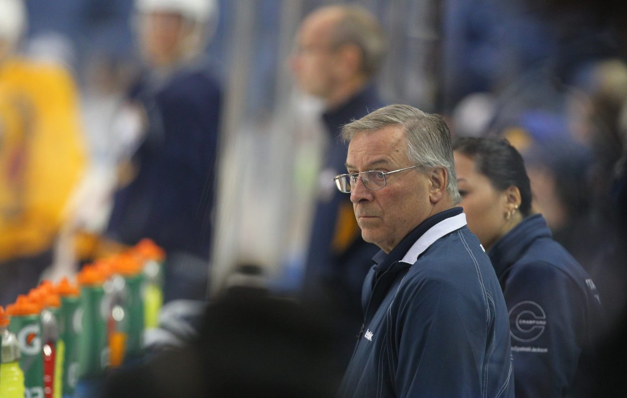 We're looking at parallel crises for the Pegulas, who entrusted their franchises to first-year coaches with defensive backgrounds and have seen both teams regress defensively. (Mark Mulville/Buffalo News file photo)