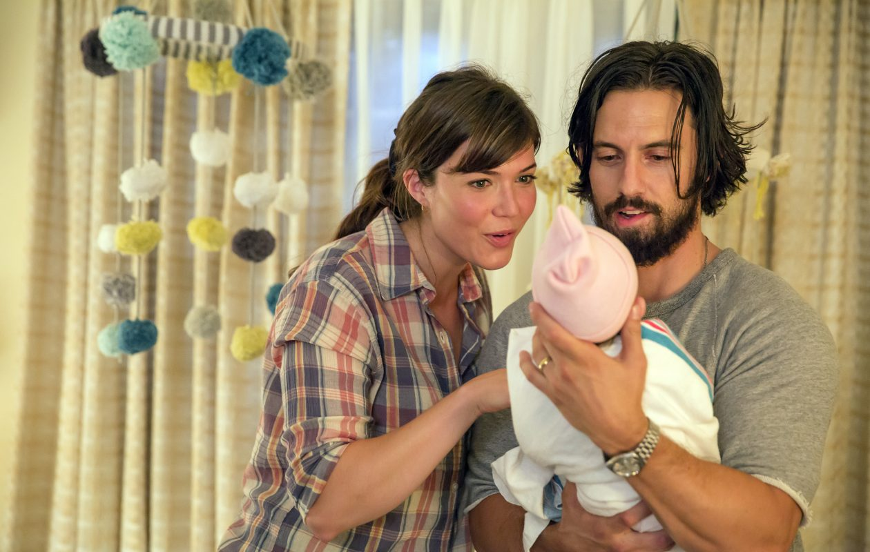 Alan Pergament says the next episode of 'This Is Us' is a must-watch. File photo from NBC shows Mandy Moore as Rebecca, Milo Ventimiglia as Jack in Episode 103. (NBC photo)