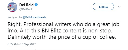 Why subscribe to BNblitz.com