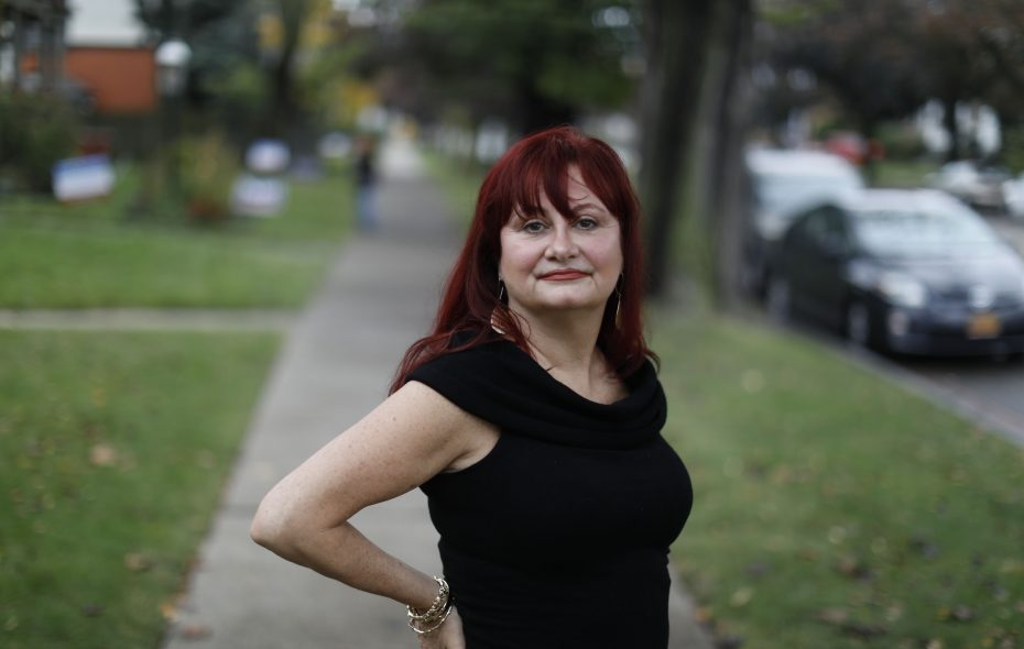 Wende Walsh says Hollywood film executive Harvey Weinstein sexually assaulted her in late 1979 or early 1980 in her car off Elmwood Avenue in Buffalo, N.Y. Walsh is one of more than 75 women who have accused Weinstein of inappropriate or criminal behavior.  (Derek Gee/Buffalo News)