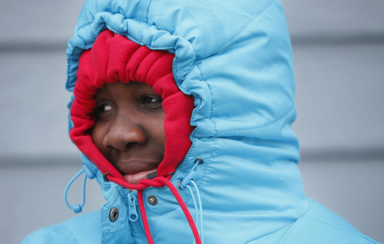 It's time to bundle up again. The first cold air of the season is moving in.  (Derek Gee/Buffalo News file photo)