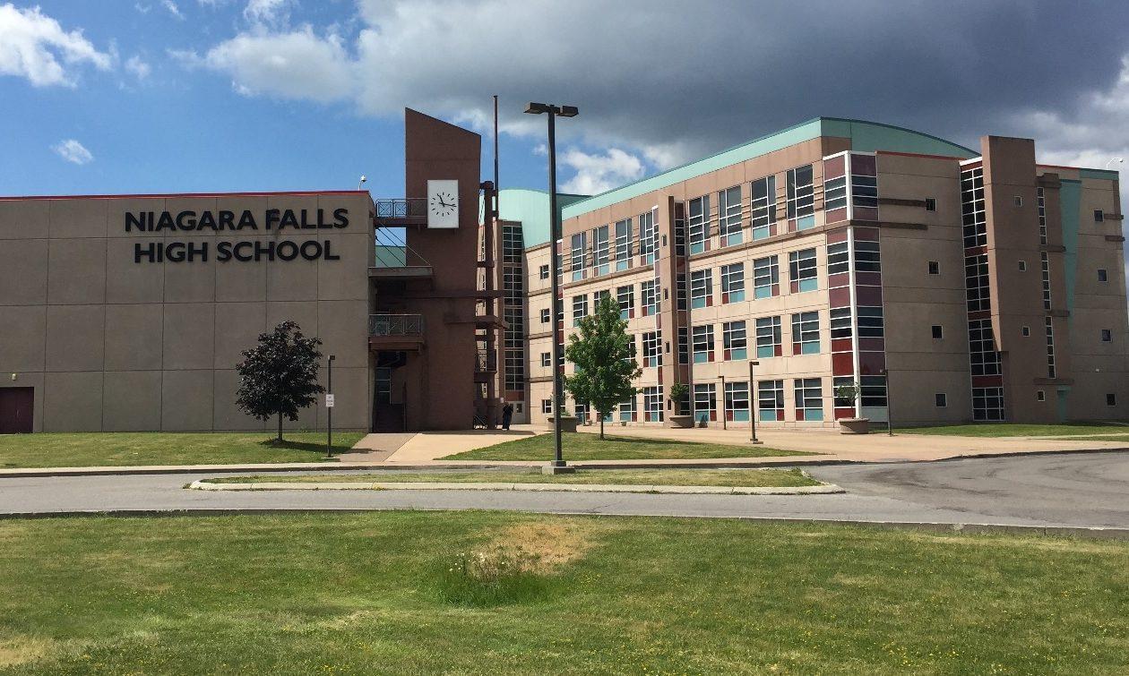 Niagara Falls High School. (News file photo)