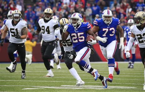 LeSean McCoy and the Buffalo Bills will face the worst rush defense in the NFL on Sunday when they visit the Los Angeles Chargers. (James P. McCoy/Buffalo News)