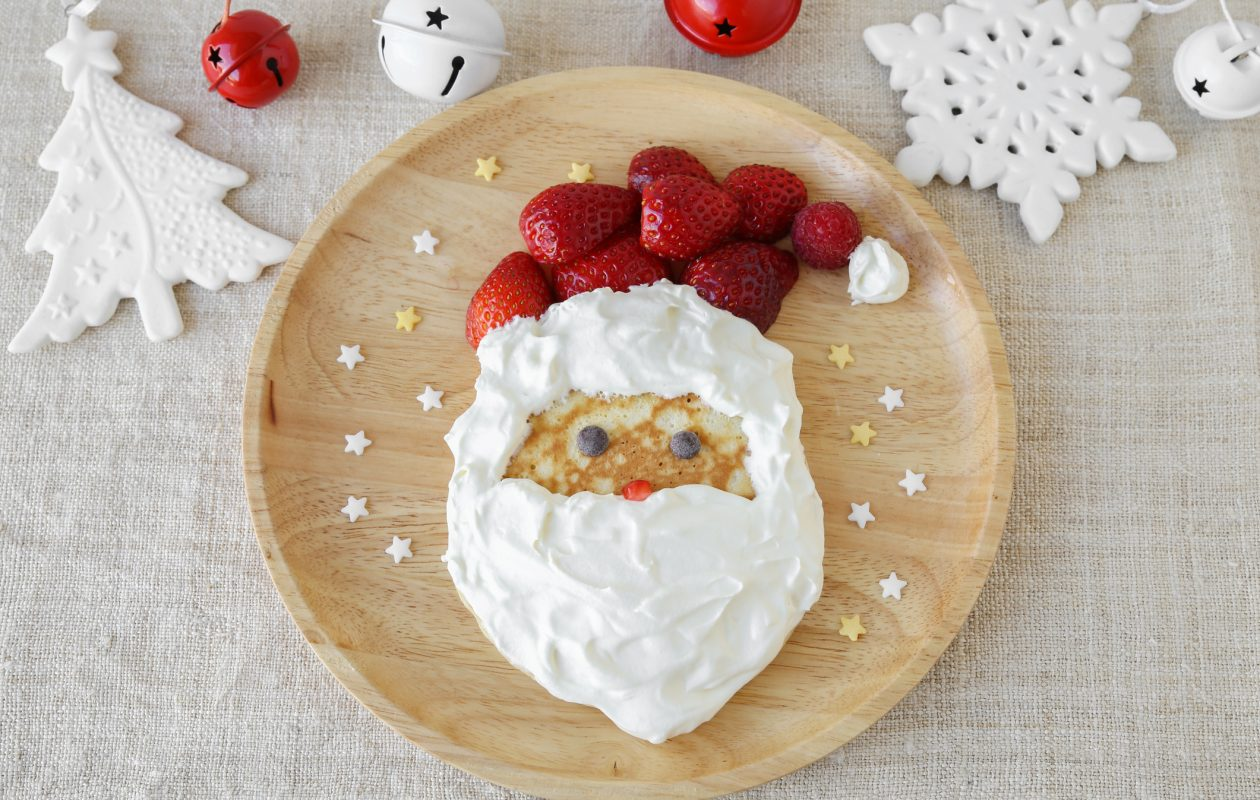 One way to get your gift list directly to Santa is to have breakfast where he will make an appearance.