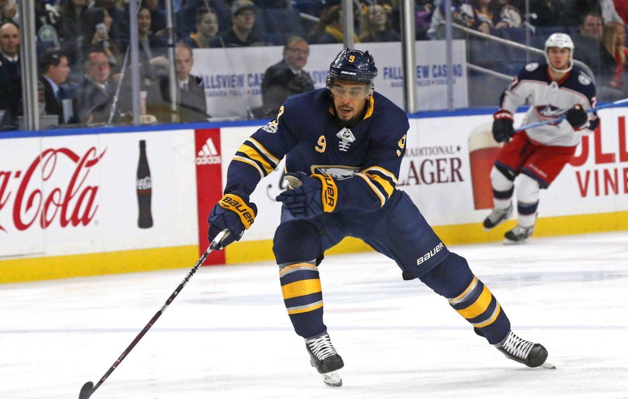 Evander Kane leads the Sabres with 12 goals. (Robert Kirkham/News file photo)