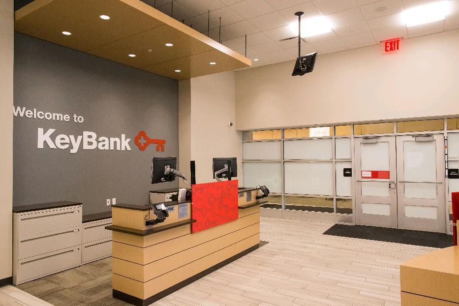 KeyBank branch in Conventus building. (Derek Gee/Buffalo News)
