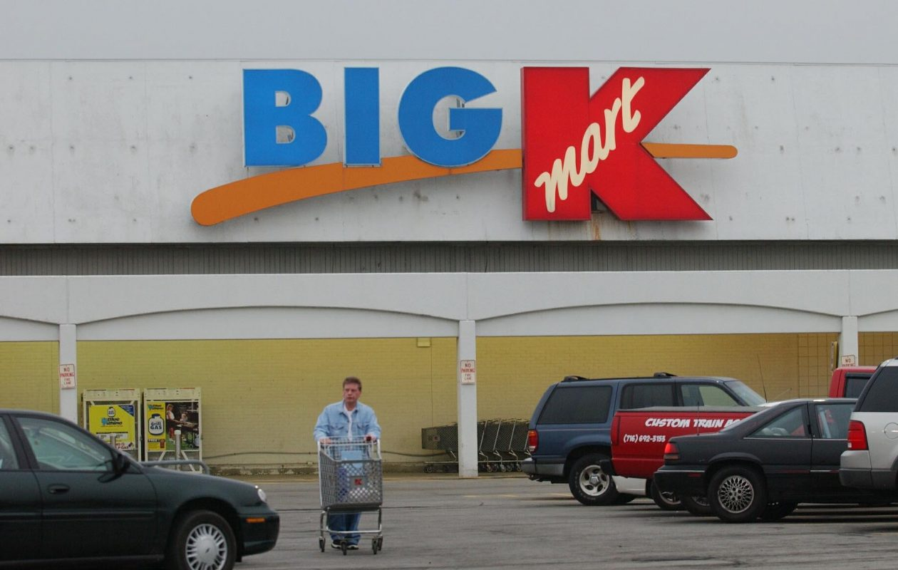 Shoppers at the KMart  store on Walden Avenue.  (News file photo)