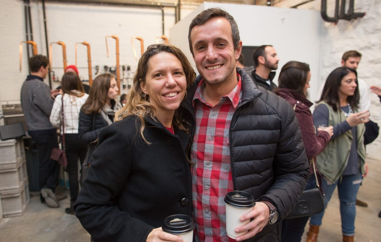 Smiling faces at Small Business Saturday in Tommyrotter in 2016. (Chuck Alaimo/Special to The News)