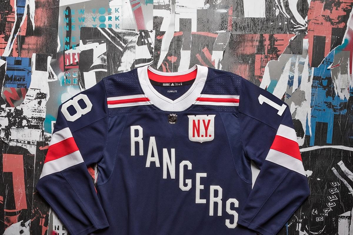 Winter Classic jerseys for the New York Rangers (NHL)
