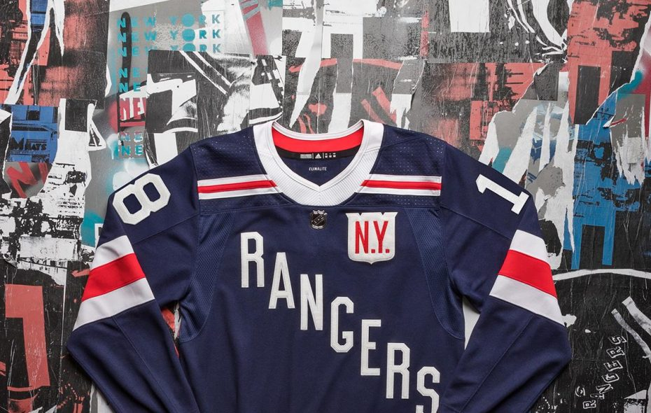 size 40 c3bdf 7691a New York Rangers unveil jerseys for Winter Classic against ...