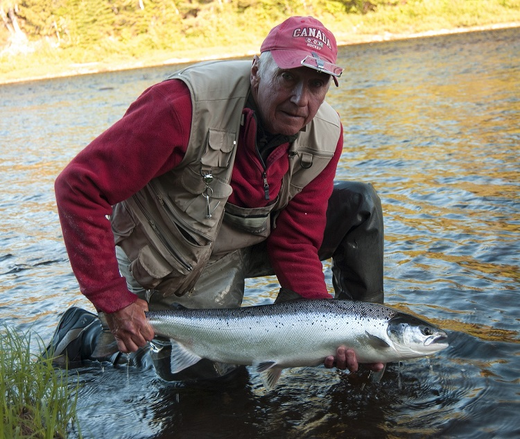 Former Sabres player and color analyst Jim Lorentz has funneled his passion for Atlantic salmon fishing into a book.