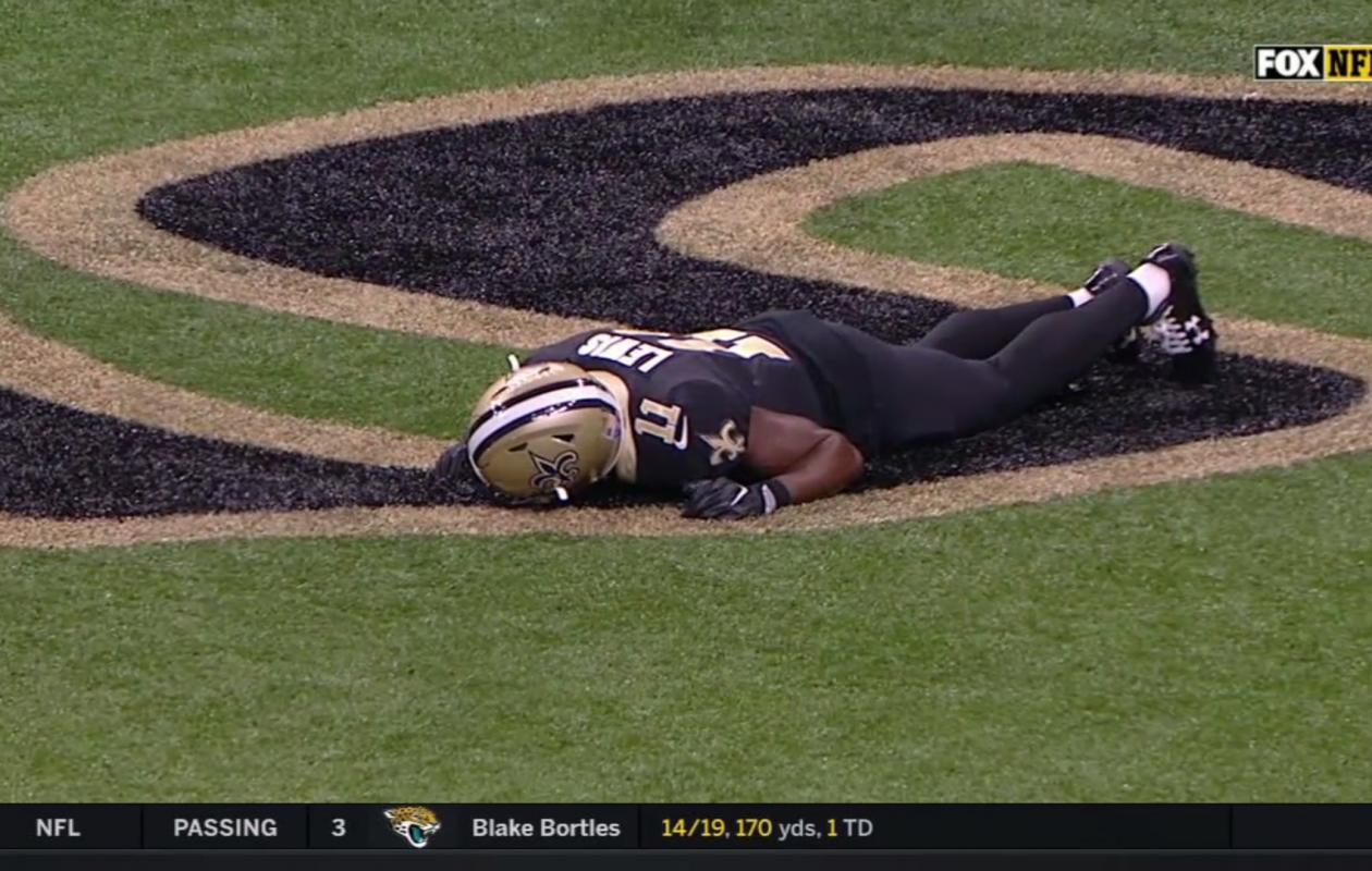 Saints coach Sean Payton called the trick play a 'dud.' (Screenshot of ESPN Video)