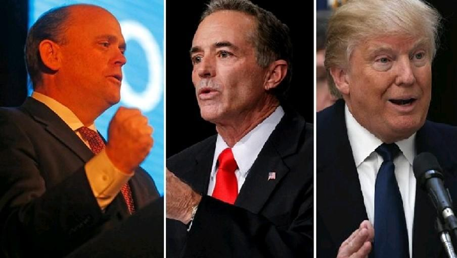 With Reps. Tom Reed, left, Chris Collins and President Trump all promising a big pay boost thanks to their corporate tax cut, how can Western New Yorkers not believe it?