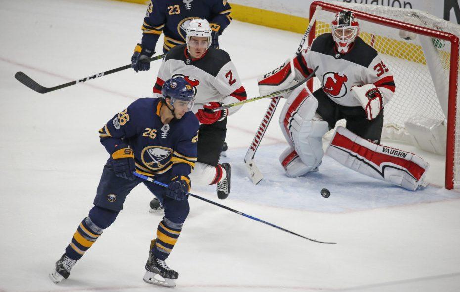 Matt Moulson fell victim to the Sabres' 6-17-4 start. (Robert Kirkham/ Buffalo News)