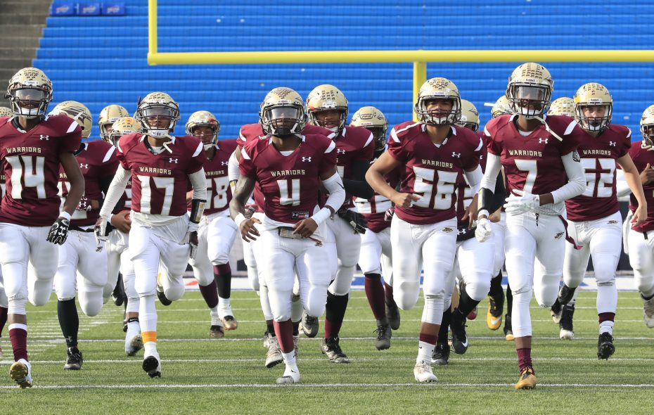 Cheektowaga was voted the No. 1 small school unanimously after capturing Section VI and regional Class B titles in 2017. (Harry Scull Jr./Buffalo News)