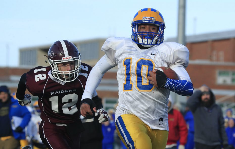 Cleveland Hill running back Aaron Wahler   (Harry Scull Jr./ Buffalo News file photo)