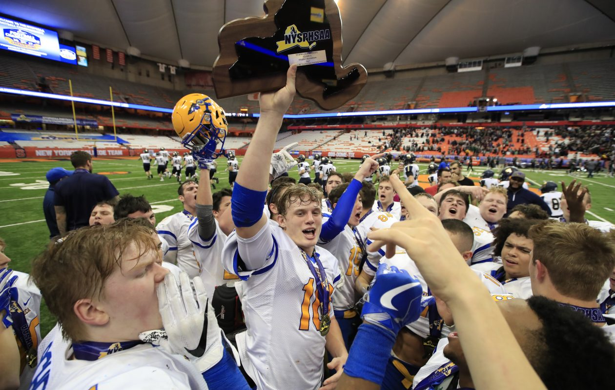 West Seneca West football was the cream of the fall crop. (Harry Scull Jr./ Buffalo News)