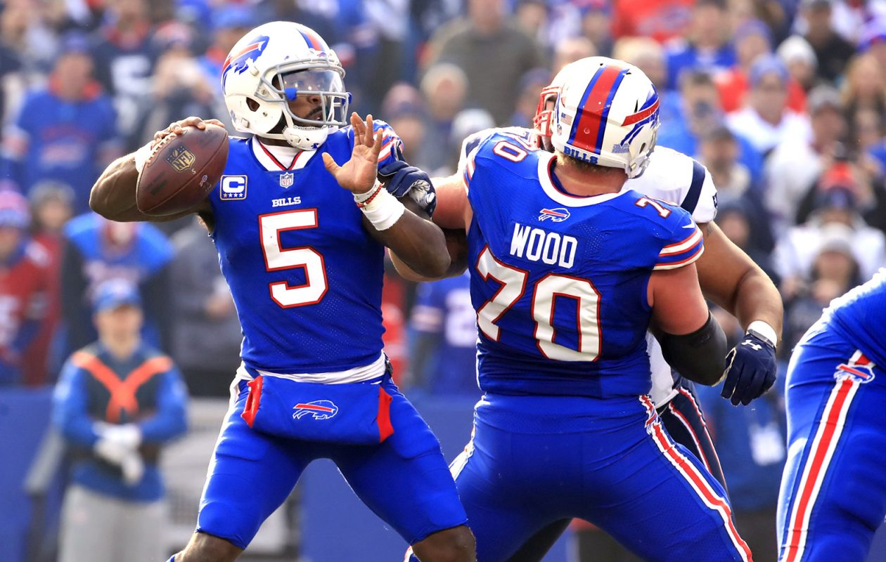 Quarterback Tyrod Taylor and Eric Wood won't be back with the Bills  (Harry Scull Jr./News file photo)