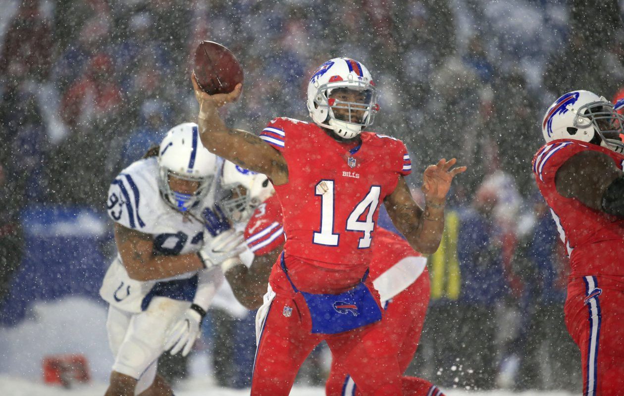 Quarterback Joe Webb  (Harry Scull Jr./Buffalo News)