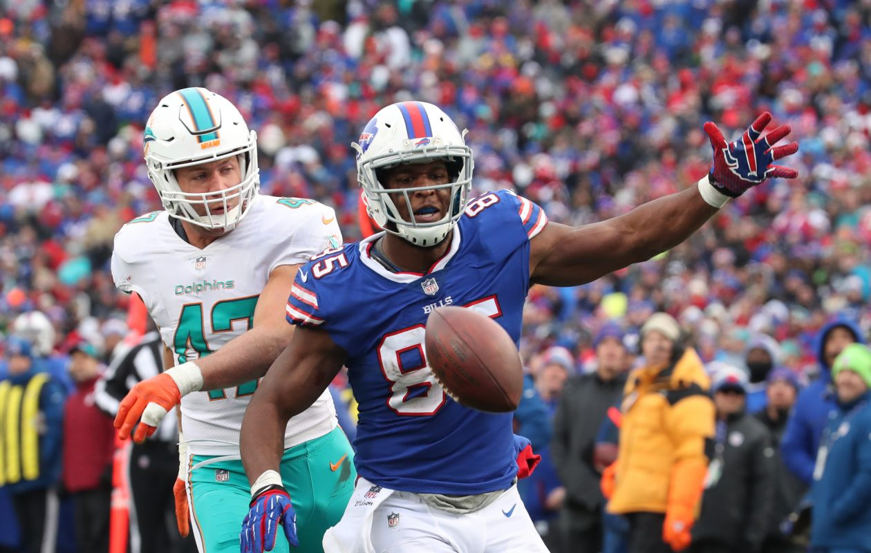 Charles Clay hurt Miami in the last meeting. (James P. McCoy/Buffalo News)