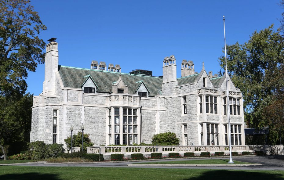 Developer John Yurtchuk completed his $2 million purchase of the historic Clement Mansion on Delaware Avenue from the Buffalo chapter of the American Red Cross.  (Robert Kirkham/Buffalo News file photo)