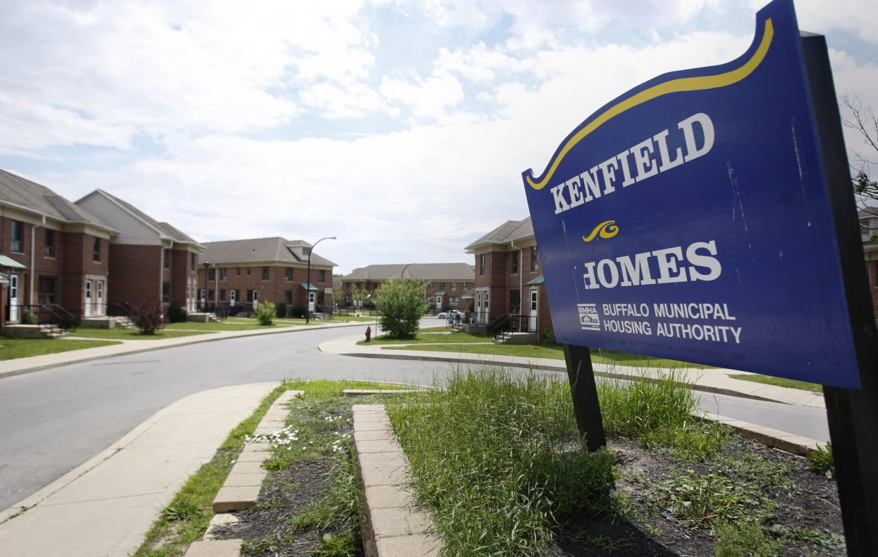The Kenfield Homes have been without power since 9 a.m. Tuesday. (News file photo)