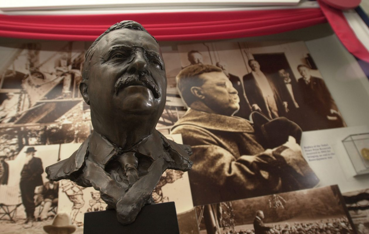 Republican Teddy Roosevelt strongly supported the inheritance tax.  (News file photo)