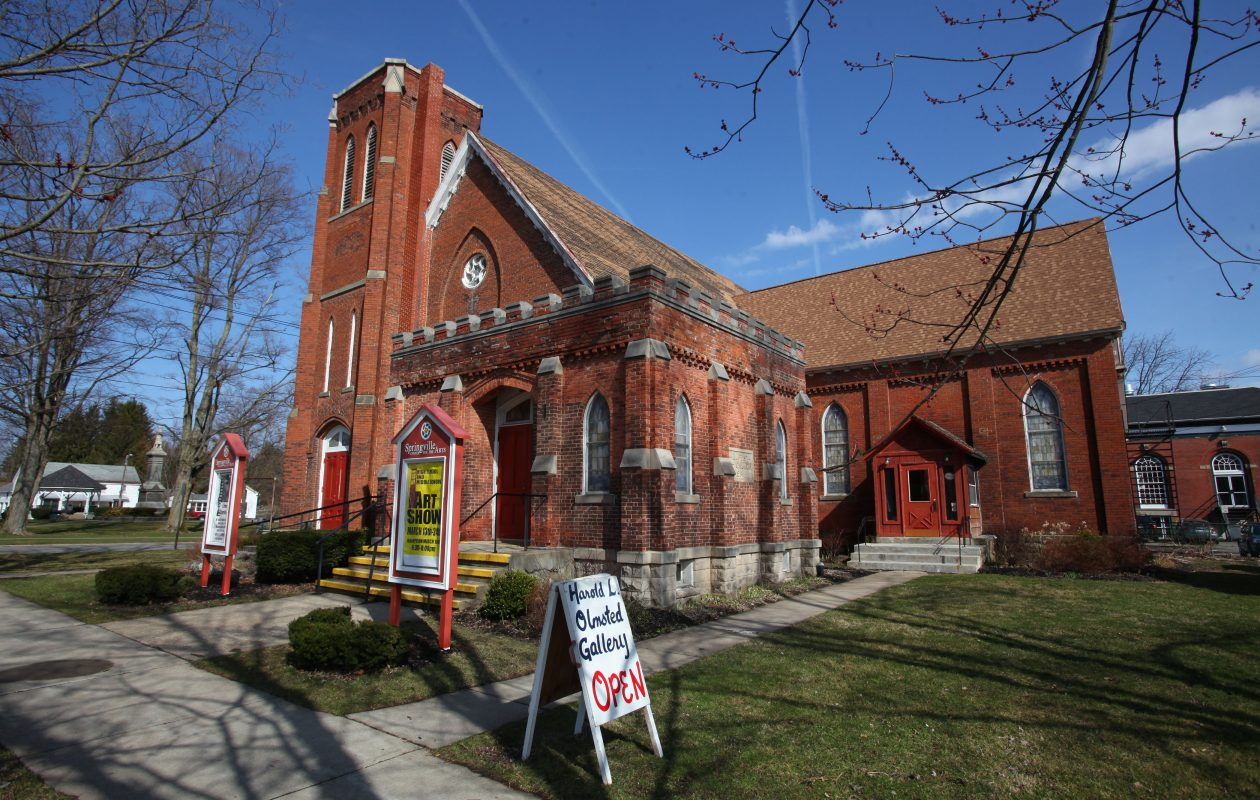 The Springville Center for the Arts received a state grant of $45,978 on top of a past $750,000 grant for a planned renovation and expansion. (News file photo)
