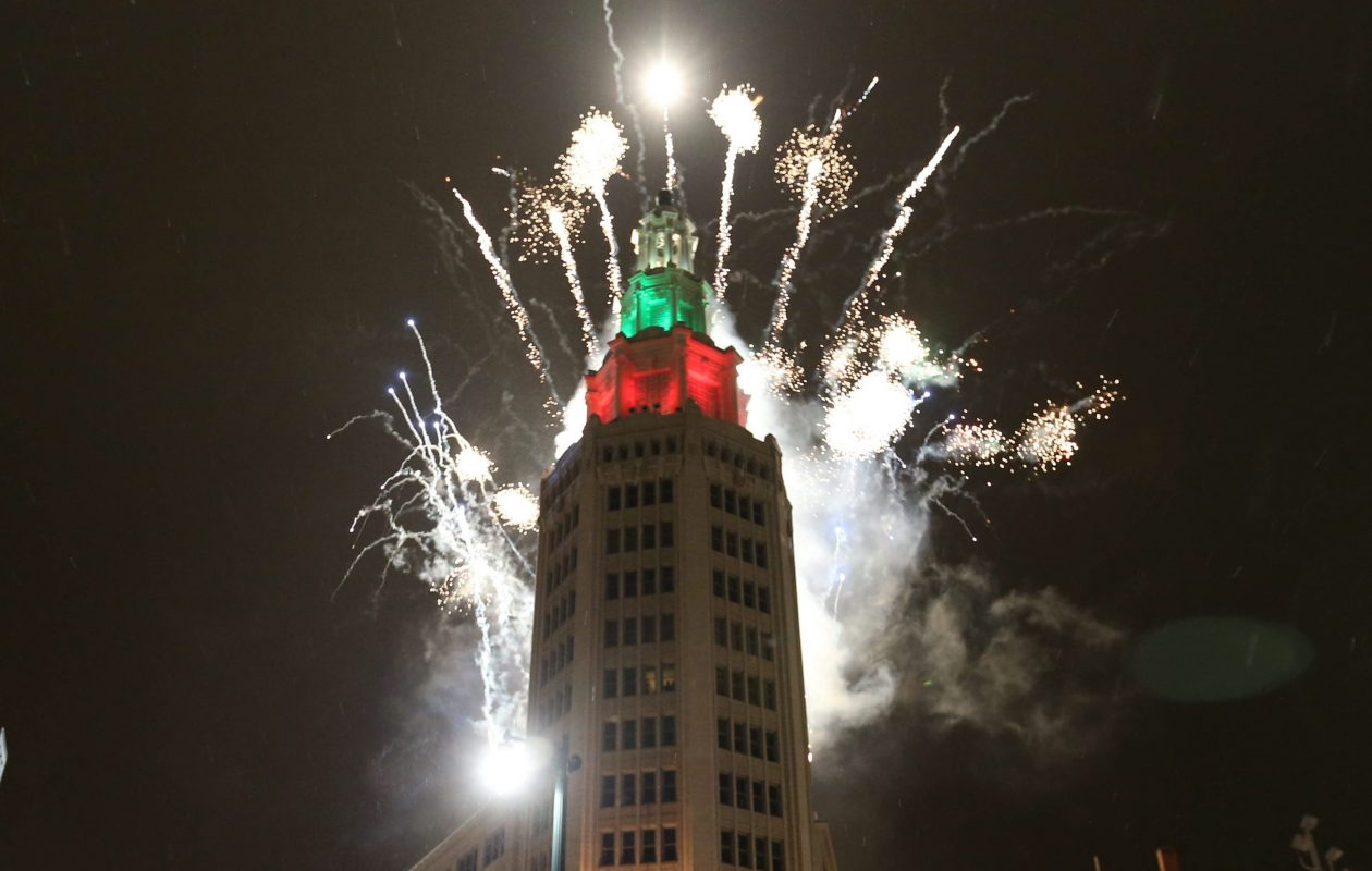The Electric Tower in downtown Buffalo is the site of the ball drop on New Year's Eve. (Sharon Cantillon/News file photo)