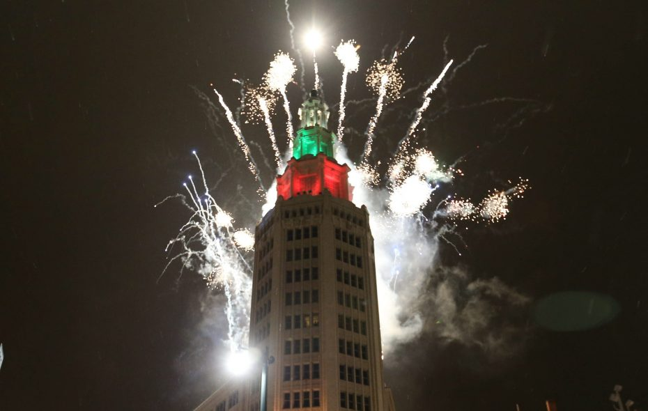 The Buffalo News wishes its readers a Happy New Year with a tongue-in-cheek list of predictions for 2019. (Sharon Cantillon/News file photo)