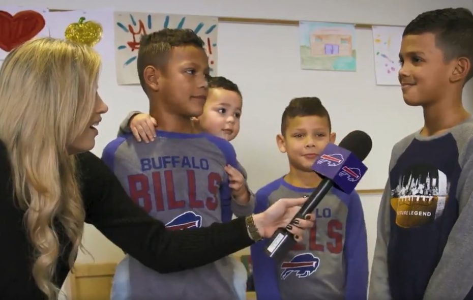 Watch adorable kids of Bills players explain what daddy does