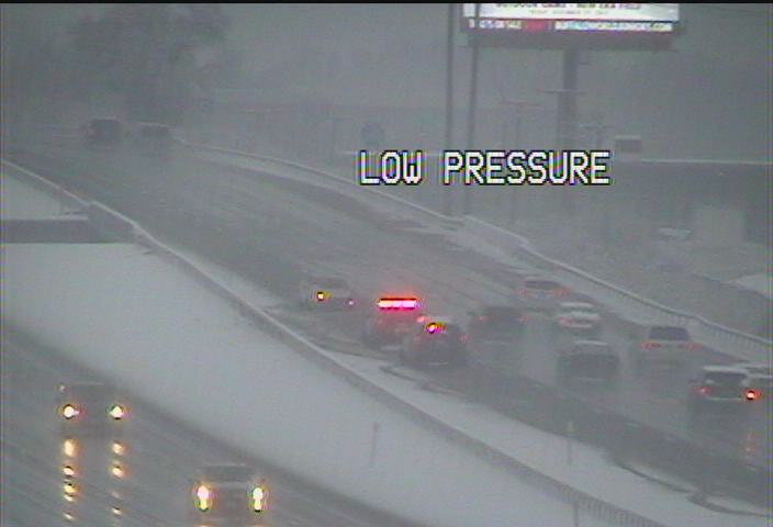 Accident reported on 290 westbound near Delaware exit – The
