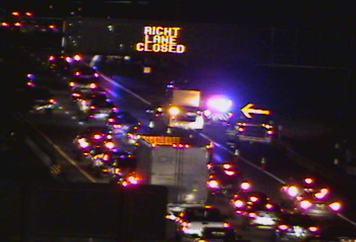 Accident on 290 westbound delays evening rush hour traffic