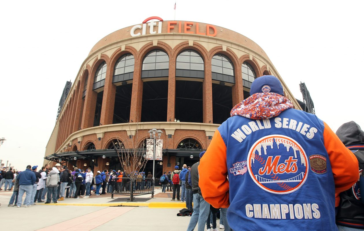 Baseball fans who head into Citi Field all summer will be replaced by Sabres and Rangers fans when the Winter Classic is held Jan. 1 (Getty Images).