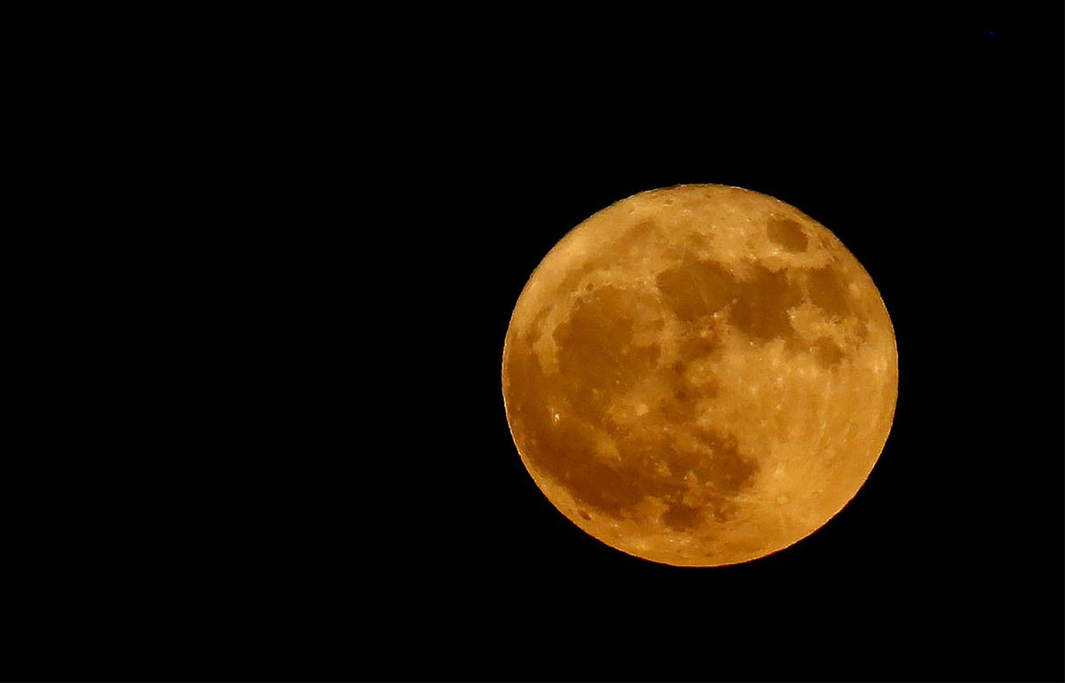 This photo of the supermoon was taken in Elma, N.Y., on Dec. 3, 2017. (Robert Kirkham/Buffalo News)