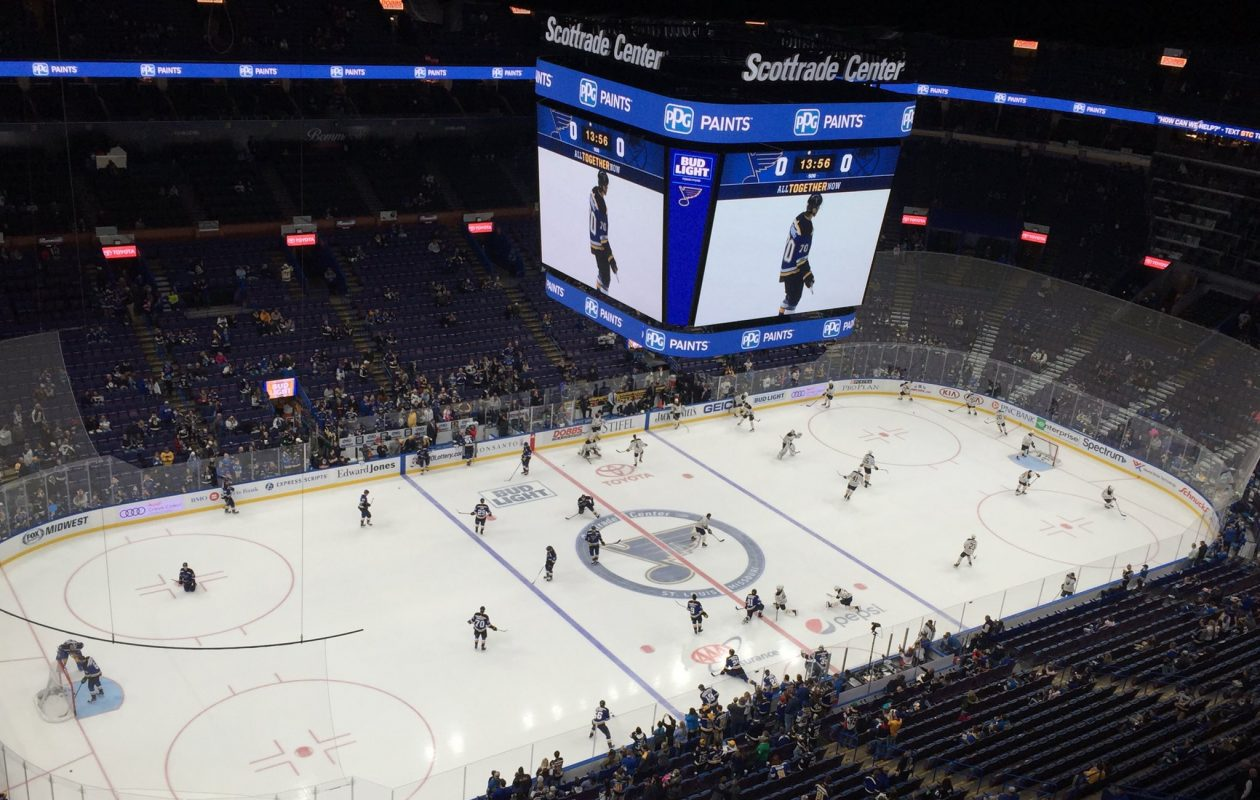 The Buffalo Sabres face the St. Louis Blues Sunday night on the road. (Mike Harrington/ Buffalo News)