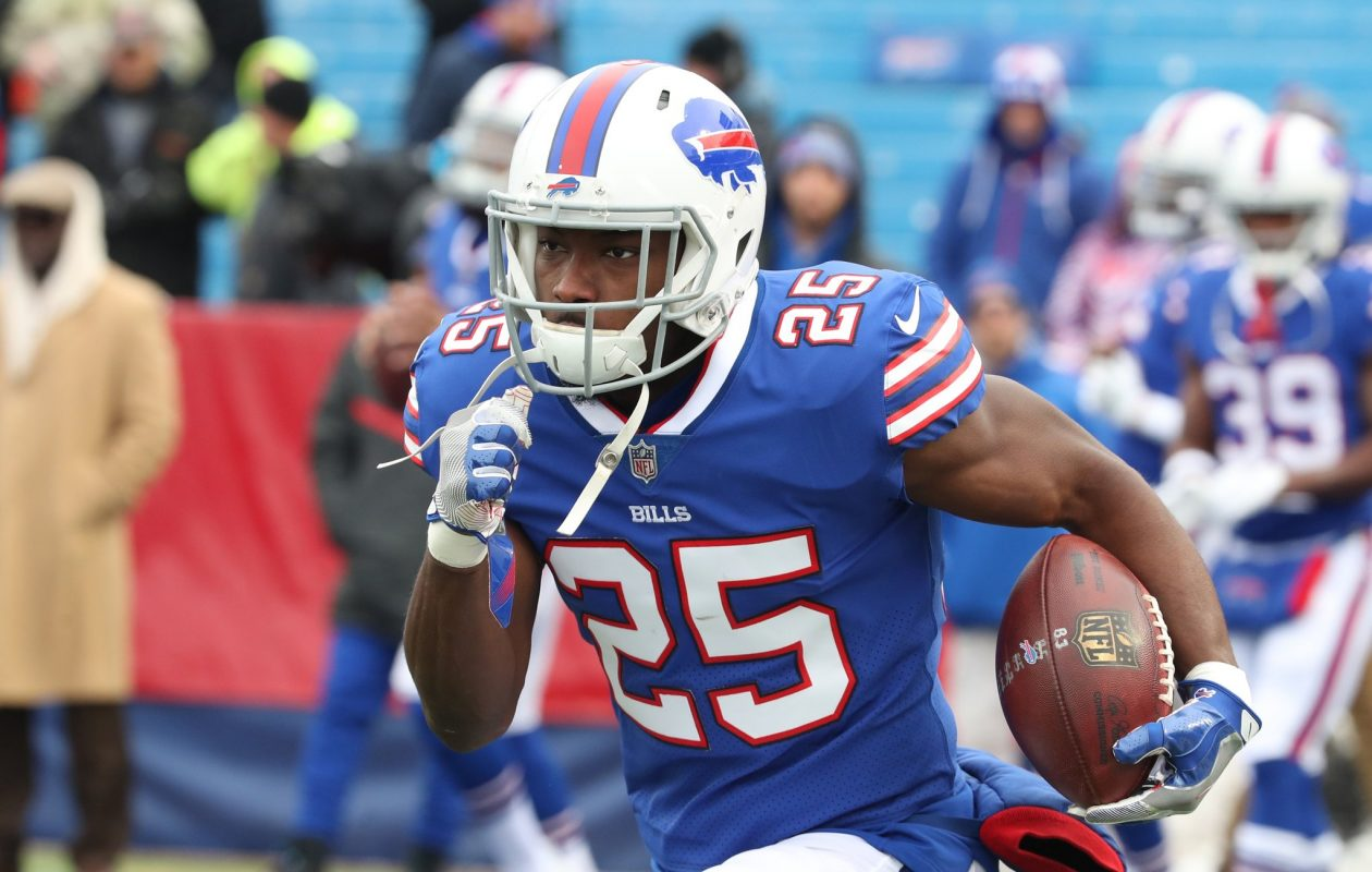 At 30, LeSean McCoy has shown no signs of slowing down. (James P. McCoy/Buffalo News)