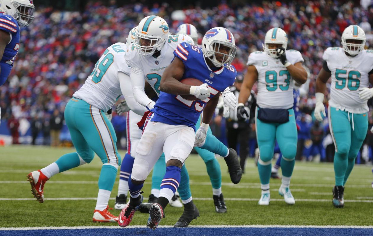 Buffalo Bills' LeSean McCoy. (Mark Mulville/Buffalo News)