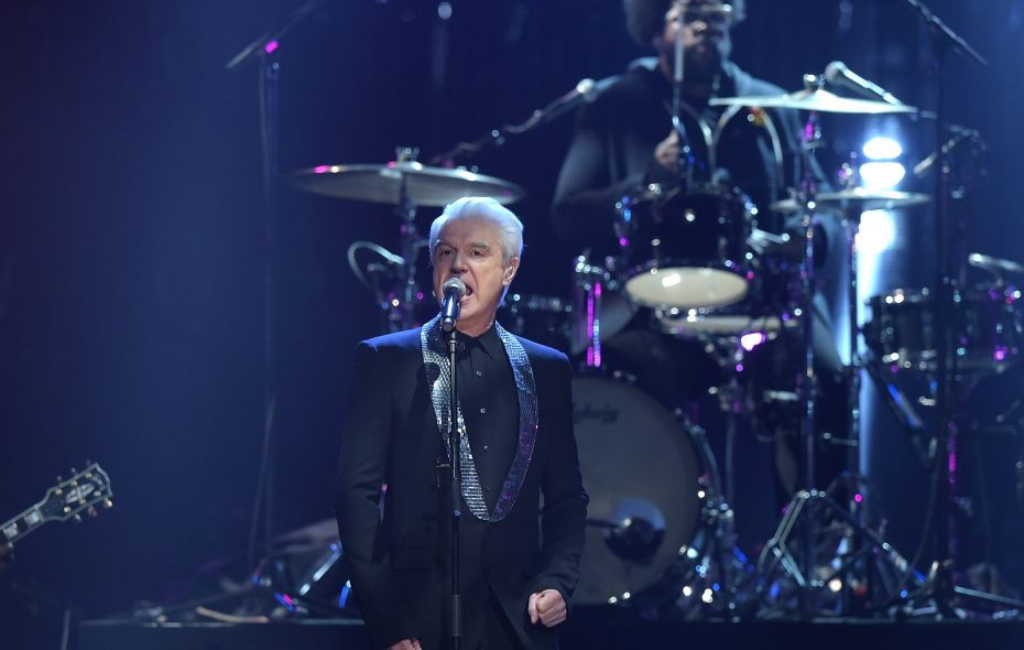 Former Talking Heads frontman David Byrne will pay a visit to Amherst.  (Theo Wargo/Getty Images)