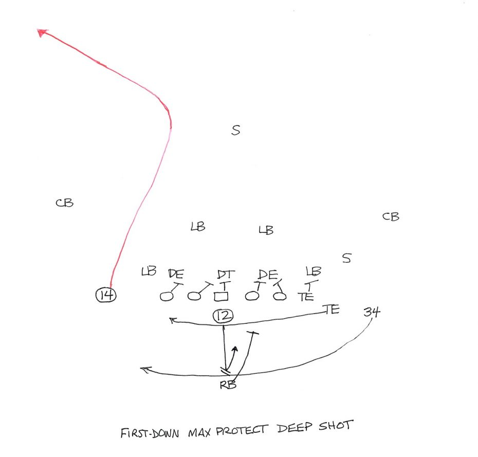 Tom Brady throws to Brandin Cooks vs. Pittsburgh. (NFL Game Pass)