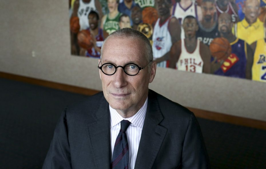 John Skipper has been ESPN's guiding force in a tumultuous period, helping it secure television rights to some of the sporting world's biggest franchises and figuring out a plan to steady the ship amid changing viewership habits that resulted in a dramatic drop in subscription numbers in recent years. (Richard Perry/New York Times)