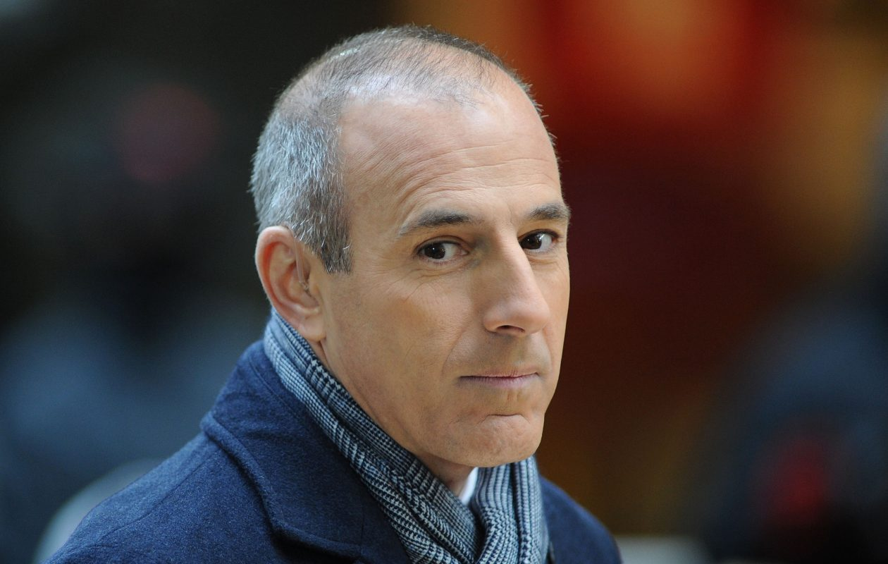 Matt Lauer at NBC's 'Today' at Rockefeller Plaza on Nov. 20, 2012 in New York City.  (Slaven Vlasic/Getty Images)