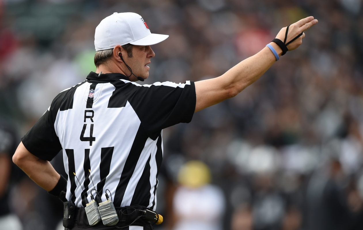 Craig Wrolstad is the head referee assigned for the Bills-Patriots game Sunday. (Getty Images)