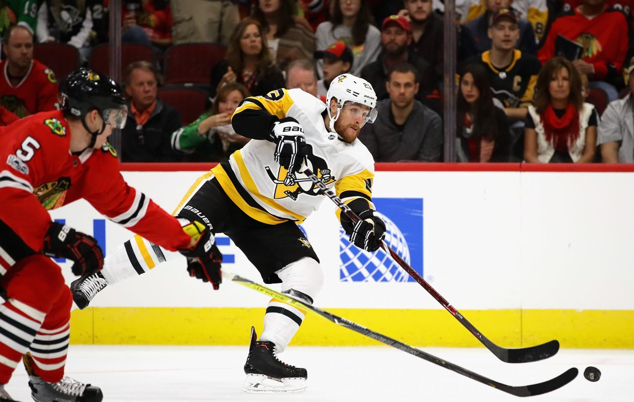 Sabres forward Scott Wilson learned a lot in Pittsburgh, and he hopes his new team follows suit. (Getty Images)