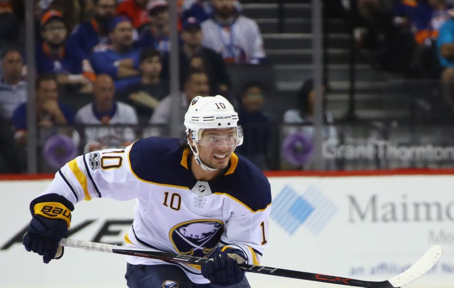 Jacob Josefson brings quiet leadership to the Sabres. (Getty Images)